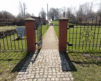 Захоронение немецких воинов и жителей Гермау. Апрель 2012