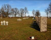 Интернациональное военное кладбище. Черняховск, март 2013