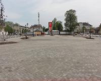 Братская могила советских воинов в Гвардейске. Май 2013
