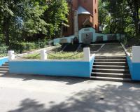 Братская могила советских воинов в Загорскоом. Июль 2013