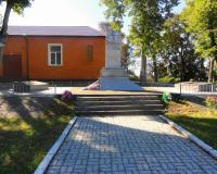 Братская могила советских воинов в Маяковском. Сентябрь 2013