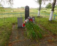 Братская могила советских воинов в Раздольном. Август 2014