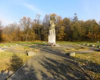 Интернациональное кладбище узников лагеря для военнопленных Шталаг 1А Штаблак. Ноябрь 2014