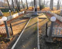 Братская могила советских воинов. Чапаево, ноябрь 2014