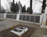 Братская могила советских воинов. Чернышевское, февраль 2015