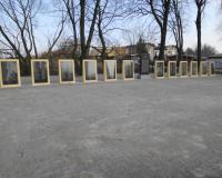Братская могила советских воинов. Цветково, март 2015