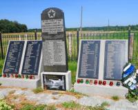 Братская могила советских воинов. Ильичево, август 2015