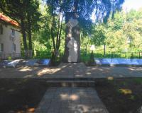 Братская могила советских воинов. Черепаново, август 2015