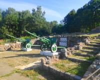 Мемориал Победы и Памяти на западной окраине Гвардейска. Август 2015