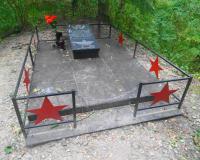 Могила младшего сержанта Шевелева Александра Михайловича. Август 2015