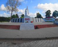 Братская могила советских воинов. Большаково, август 2015