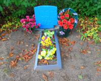 Братская могила советских воинов. Ржевское, август 2015