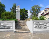 Братская могила советских воинов. Ясное, август 2015