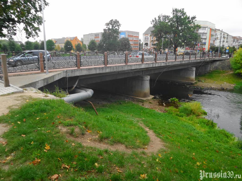 фото нового моста в гусеве коновалова уже успела