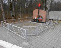 Братская могила советских воинов. Говорово, апрель 2016