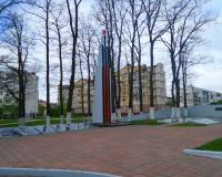 Мемориальный комплекс на братской могиле советских воинов. Калининград, Чкаловск, май 2017