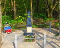 Братская могила советских воинов. Перелесное, май 2017