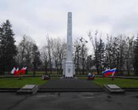 Военное советское кладбище. Бранево, апрель 2017