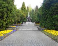 Мемориальном кладбище советских воинов. Катовице, май 2016