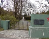 Кладбище советских воинов и военнопленных в городе Сувалки. Май 2017