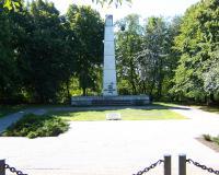 Военное советское кладбище в городе Хелмно, Польша. Август 2008