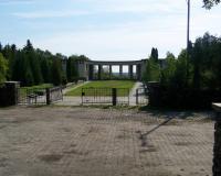 Кладбище советских воинов и военнопленных. Пултуск, Клешево, август 2007