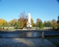 Советское военное кладбище. Эльблонг, декабрь 2012