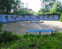 Братская могила советских воинов. Тимирязево, август 2017