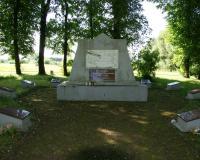 Кладбище советских воинов в поселке Иглишкеляй, Литва. Июль 2017