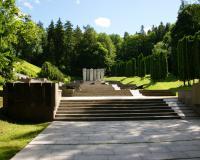 Мемориал советских воинов в г. Вильнюс, Литва. Июль 2017