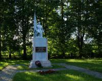 Кладбище советских воинов в городе Пагегяй, Литва. Июль 2017