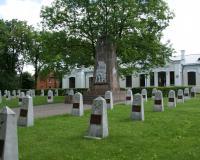 Кладбище советских воинов в городе Мариямполе, ул. Семинариёс, Литва. Июль 2017