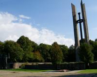 Кладбище советских воинов. Клайпеда, Литва, сентябрь 2017