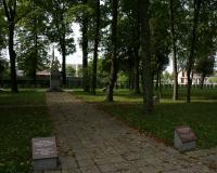 Кладбище советских воинов в городе Кальвария, Литва. Сентябрь 2017