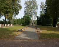 Кладбище советских воинов в городе Кудиркос Науместис, Литва. Сентябрь 2017