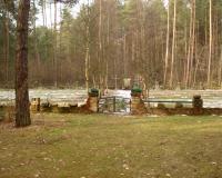 Кладбище советских военнопленных. Сосна-Козулки, февраль, 2015