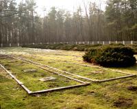 Кладбище советских военнопленных. Сухожебры, февраль 2015