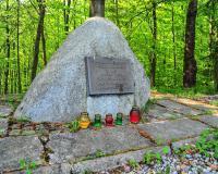 Интернациональное кладбище военнопленных. Эльблонг, пригород Дембица, ул. Менчицка, в лесу