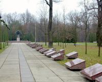 Кладбище советских воинов. Каунас, Литва, октябрь 2017