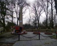 Братская могила советских воинов. Канаш, декабрь 2017