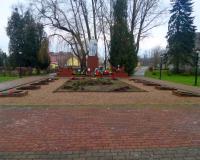 Братская могила советских воинов. Краснознаменск, декабрь 2017