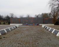 Братская могила советских воинов. Рощино, январь 2018