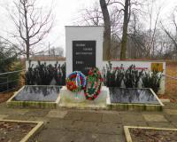 Братская могила советских воинов. Ельники, январь 2018