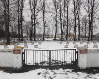 Кладбище советских воинов. Довилай, март 2018
