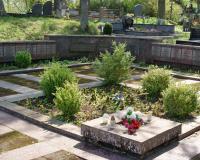 Кладбище советских воинов в городе Тракай, Литва. Май 2018