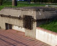 Место гибели шести воинов 125-й стрелковой дивизии 22 июня 1941 года. Город Таураге, Литва. Апрель 2018