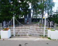 Братская могила советских воинов. Комсомольск, июнь 2018