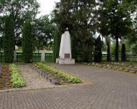 Кладбище советских воинов в деревне Кидуляй, Литва. Июль 2018