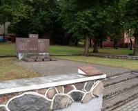 Кладбище советских воинов в городе Вилькия, Литва. Июль 2018