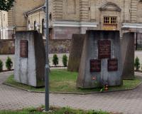 Кладбище советских воинов в городе Вевис, Литва. Июль 2018